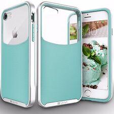 iPhone 8 Case, Vena [Harmony] Wave Texture [Hybrid Clear Back Panel] + Free Ship
