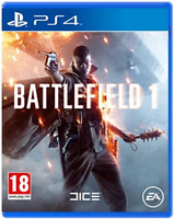 Battlefield 1 PS4 (Sony PlayStation 4, 2016) Brand New - Region Free