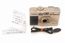 Exc+++ MINOLTA TC-1 35mm Point & Shoot Camera G-ROKKOR 28mm f/3.5 from Japan1152