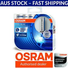 OSRAM Xenarc Cool Blue Boost D3S Xenon Car Headlight Globes (Twin) 66340CBB-HCB