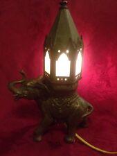 Art Deco Bronze Elephant Lamp Nightlight Early Franz Bergman