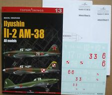 Ilyushin Il-2 AM-38 all models - TopDrawings, KAGERO + Free Decals