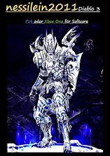 Diablo 3 RoS Ps4/Xbox One - Dämonenjäger - Unheilige Essenz - URALT - Unmodded