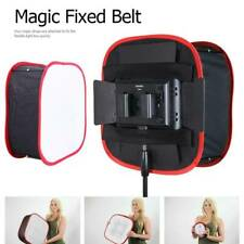 Universal Foldable Collapsible Portable Red Softbox Diffuser for Led Soft Light