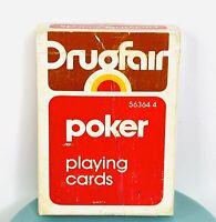 Vintage DrugFair Playing Cards (1978) Alexandria Virginia 059