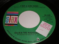 Ollie & The Nightingales: I Got A Sure Thing / Girl, You Have My Heart 45 - Soul