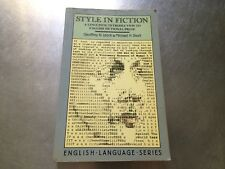 English Language: Style in Fiction : A Linguistic Introduction to English #3248B