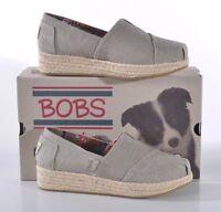 NIB Skechers Bobs Wedge Espadrille Shoe Women's 8.5 MED Taupe Memory Foam 34101