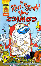 REN AND STIMPY SHOW (1995) Wizard Mini-Comic - Back Issue