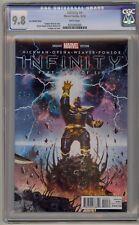 Infinity 4 CGC 9.8 Lee Variant Black Order Avengers Movie Thanos Marvel Comics
