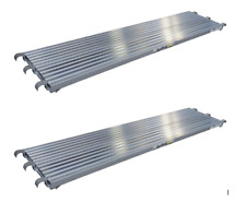 "7'X19.25"" Aluminum Walkboard - Set of (2)"
