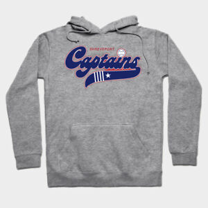 Shreveport Captains hooded sweatshirt hoodie Texas League Minor League Baseball