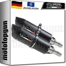 GPR 2 AUSPUFF ABE FURORE SCHWARZ BMW R 1200 S 2006 06 2007 07 2008 08