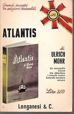 ATLANTIS - ULRICH MOORE - POCKET LONGANESI