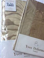 Yves Delorme TRIBU PAILLE SATIN Duvet Cover Set SINGLE 140/220CMS