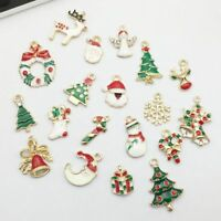 Charms Alloy Christmas DIY Jewelry Making Pendant Craft