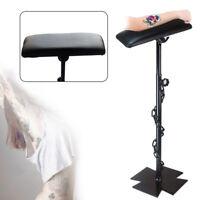 Tattoo Salon Heavy Duty Iron Tattoo Full Adjustable Armrest Leg Rest 68-100cm