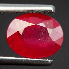 TOP RUBY : 2,98 Ct Natürliche Rot Rubin aus Madagaskar