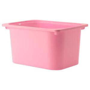 IKEA TROFAST Box Boxen Aufbewahrung Spielzeugaufbewahrung 42x30x23cm rosa NEU