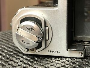 Nikon F Body 64X Early Rare Serial Number 6494916 Rare Nippon Kogaku Engraved