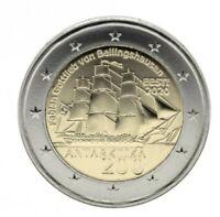 2 Euro Estland 2020 200. Jahrestag der Entdeckung der Antarktis