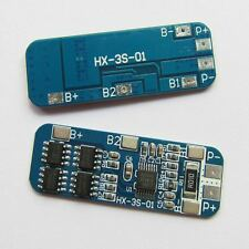 3s 10a Lithium Battery Charger Protection Board BMS Li-ion Charging Module 12v