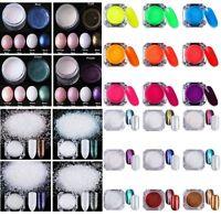 Nail Art Glitter Powder Dust For UV Gel Shining Pigment  Decoration