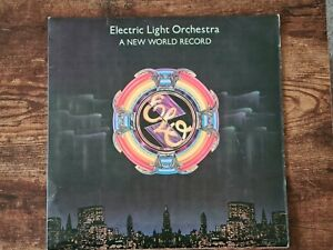 ELO/ELECTRIC LIGHT ORCHESTRA - A NEW WORLD RECORD - FIRST PRESS VINYL RECORD
