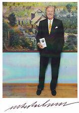 Albert DARBOVEN - dt. Unternehmer (Kaffee), Original-Autogramm!