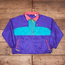 "Mens Vintage Woolrich 1990s Sigmet Gear Purple Half Zip Jacket XXL 50"" R8427"