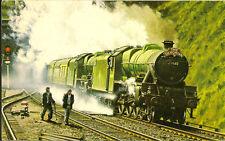 RAILWAY :  The Northbound 'DEVONIAN' - IAN ALLAN