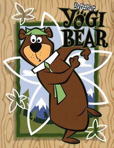Hanna Barbera STYLE GUIDE PLATE - YOGI BEAR