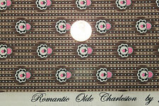 """ROMANTIC OLDE CHARLESTON"" COTTON REPRODUCTION QUILT FABRIC BTY MARCUS 0799-0113"