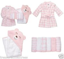 Carter's Little Layette 8 Piece Bath Gift Set Bundle ~ New With Tags