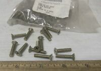 Package of Phillips Head Countersunk Steel Machine Screws (NOS)