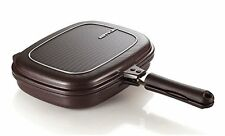 Happycall PLASMA Titanium Coating Double Grill Pan IH (Induction) Compatible New