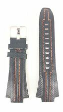 Original Seiko Sportura SNA595 Watch Band 7T62-0ED0 Leather Strap SNJ011P2 +FREE
