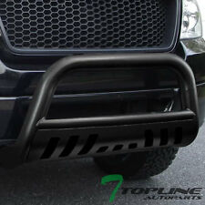 HAMMERED BLK BULL BAR BRUSH PUSH BUMPER GRILL GRILLE GUARD 1997+ F150/EXPEDITION
