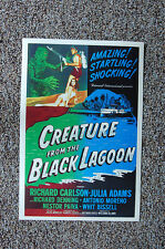 Creature From the Black Lagoon #2 Lobby Card Movie Poster Richard Carlson