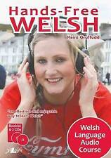 Hands free Welsh by Heini Gruffudd Double Audio CD & 56 PAGE BOOKLET - FAST P&P