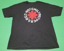 Red Hot Chili Peppers Tee Shirt Size XXL Mens Black Free Shipping