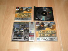 MEDAL OF HONOR 1 DE EA GAMES PARA LA SONY PS1 USADO COMPLETO EN BUEN ESTADO