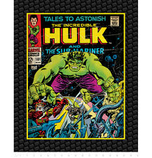"FABRIC PANEL Camelot Cottons ~ THE INCREDIBLE HULK ~ by Marvel Comics 36"" x 44"""