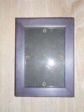 lila Bilderrahmen Maße 18,7 x 14 cm Holzrahmen