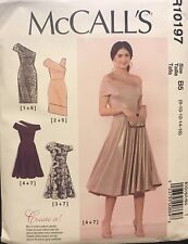 McCalls Create it pattern R10197 Women's Special Occasion Dresses sz 8 - 16 new