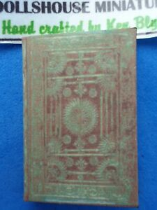 1:12scale Book, Tudor Patterns , Crafted by Ken Blythe