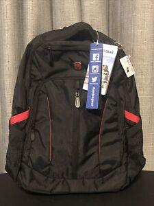 "Swissgear 18.5"" Backpack with Laptop Pocket - Black"