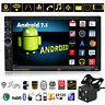 "Quad-core Android 7.1 3G 7"" 2 DIN Bluetooth Car GPS Nav MP3 MP5 FM Radio +Camera"