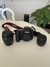 Canon EOS 6D Body + 85mm & 35 mm F/2 prime lenses in excellent condition