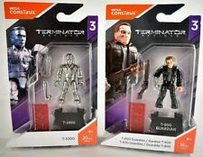 Mega Construx Heroes series 3 Terminator Genisys T-1000 and T-800 Guardian